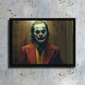 Joker Film Kahramanı Kanvas Tablo TBL1138