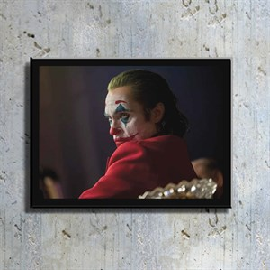 Joker Film Kahramanı Kanvas Tablo TBL1139