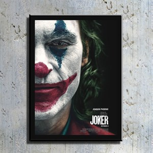 Joker Film Kahramanı Kanvas Tablo TBL1148