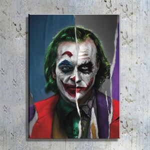 Joker Film Kahramanı Kanvas Tablo TBL1146