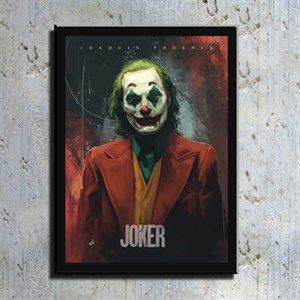 Joker Film Kahramanı Kanvas Tablo TBL1149