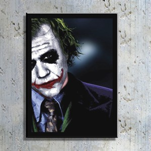 Joker Film Kahramanı Kanvas Tablo TBL1145