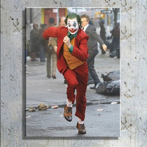 Joker Film Kahramanı Kanvas Tablo TBL1151