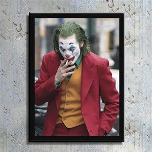 Joker Film Kahramanı Kanvas Tablo TBL1150