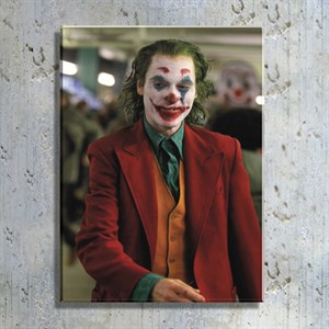 Joker Film Kahramanı Kanvas Tablo TBL1144
